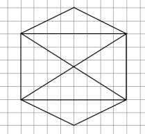 Кумир - Исполнитель Чертежник - Алгоритм рисования простой фигуры 1