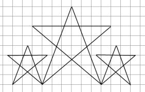 Кумир - Исполнитель Чертежник - Алгоритм рисования простой фигуры 10