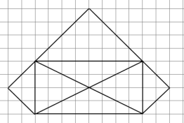 Кумир - Исполнитель Чертежник - Алгоритм рисования простой фигуры 4