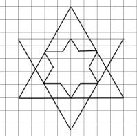 Кумир - Исполнитель Чертежник - Алгоритм рисования простой фигуры 9