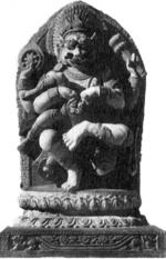 Нарасинха - аватара Вишну. Непал. Около XVIIв.