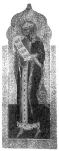 Праотец Авраам. Икона XII в.