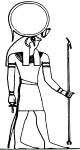 бог солнца египтян Ра