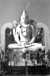 Храм Шиваы под открытым небом. Бангор