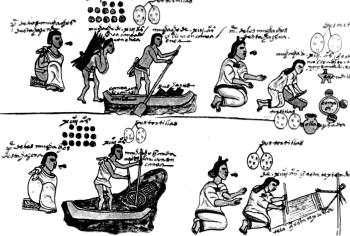 Повседневная жизнь ацтеков.