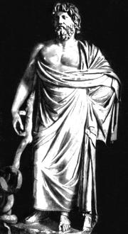 Асклепий. Римская копия с греческого оригинала.