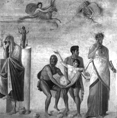 Жертвоприношение Ифигении.