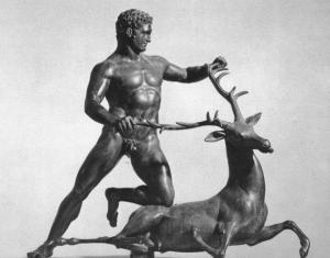 Подвиги Геракла: Геракл и Керинейская лань