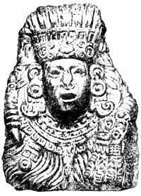 Каменная маска Кецалькоатля.