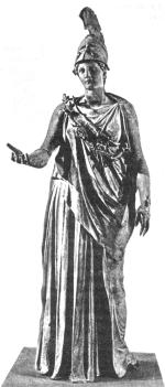 Афина Паллада. Храм Афины Девы — Парфенон.