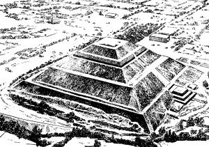 Пирамида Солнца в Тиотиукане