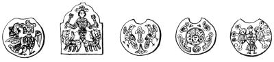 Языческие символы на славянских колтах и диадемах