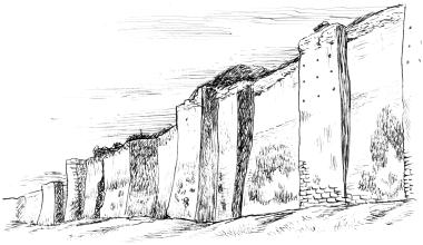 Стена Аврелиана.