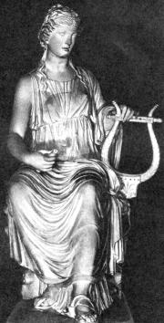 Терпсихора. Римская копия с греческого оригинала.