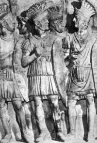 Римские воины.