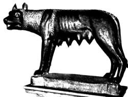 Капитолийская волчица.