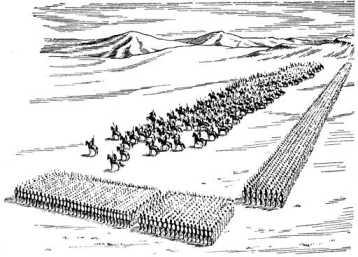 Боевой порядок фиванцев