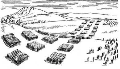 Боевой порядок римского легиона в IIIв. до н.э.