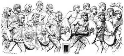 Германские телохранители последних императоров Запада