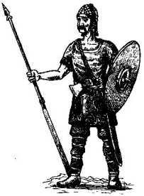 Франкский воин