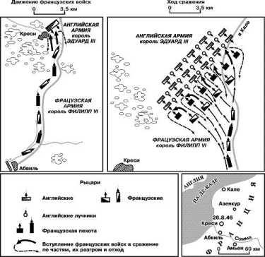 Сражение при Креси 26 августа 1346г.
