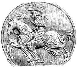 Богемский король Иоанн (Люксембургский) в полном вооружении