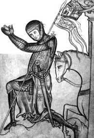 Молящийся крестоносец