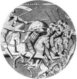 Преследование крестоносцами сельджуков