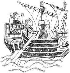 Плаванье рыцарей в Святую Землю на генуэзских галерах (1187г.)
