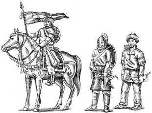 Воины армии Салах-ад-Дина