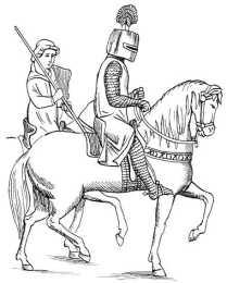 Рыцарь и оруженосец