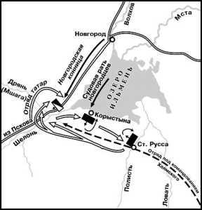 Поход Ивана III на Новгород в 1471г.