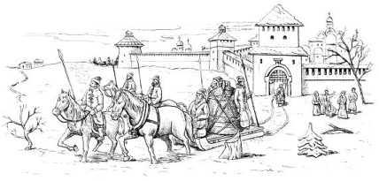 Вечевой колокол увозят из Новгорода в Москву по приказу Ивана III