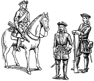 Драгуны Петра Великого