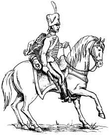 Гвардейский конно-артиллерист французской армии