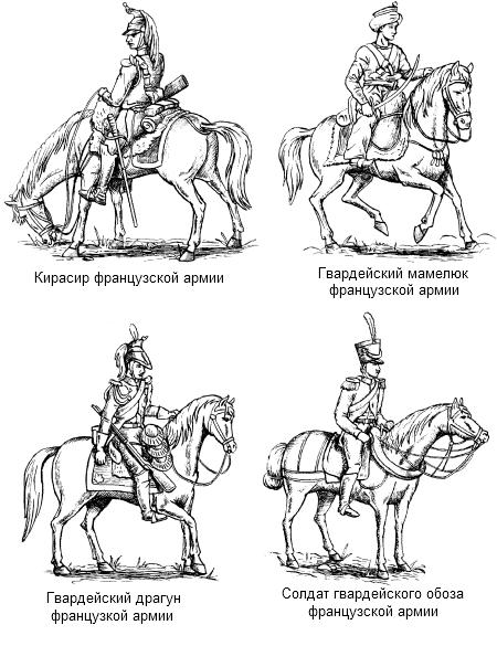 Гвардейцы французской армии