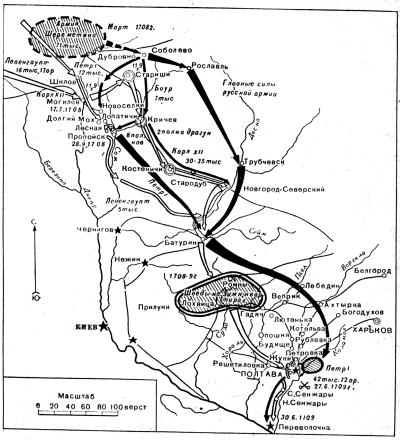 стратегические планы Карла 12