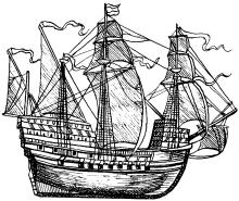 Английский корабль Мери Роуз