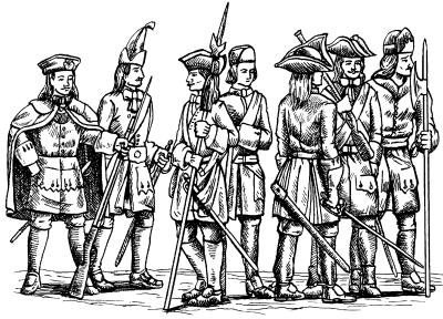 Русская армия Петровского времени