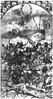 Когда испанцы вернулись и осадили Теночтитлан, Кортеса едва не захватили в плен индейцы.