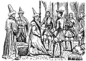 КарлXII требует от турок возобновления сражения при Пруте