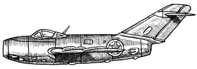 Истребитель МиГ-15 (ВВС КНДР)