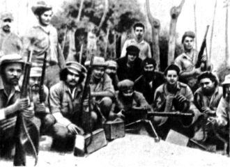 Отряд повстанцев в горах Сьерра-Маэстра