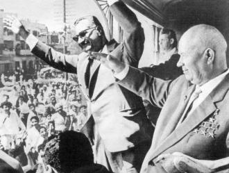 Визит Н.С. Хрущева в Египет по приглашению президента Г.А. Насера